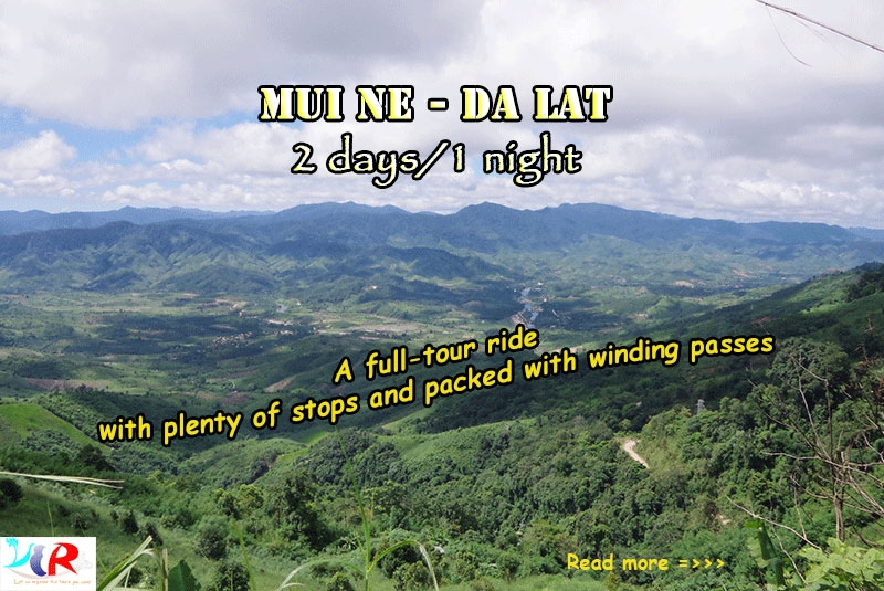 Easyrider Muine to Dalat in 2 days